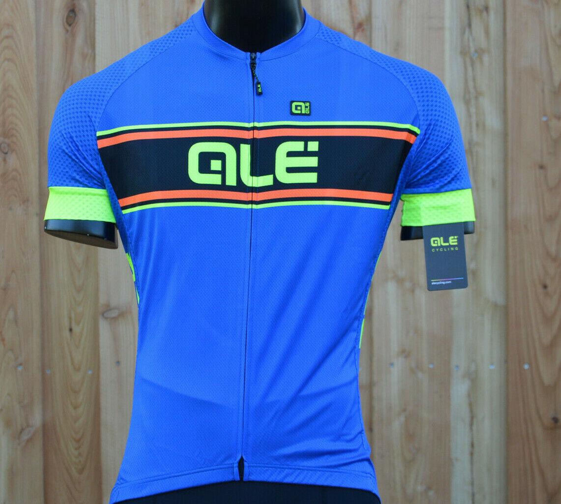 Alé ale vetta Solid confort rueda camiseta ligeramente atmungungsaktiv azul  nuevo