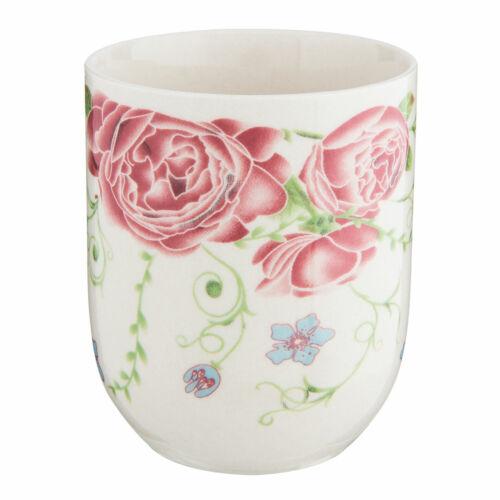 Clayre /& Eef Teekanne Porzellan 0,7 L Flowers /& Birds  passende Becher 0,1L