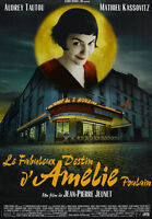 """AMELIE - FRENCH MOVIE POSTER / PRINT (BRASSERIE / CAF?) (SIZE: 27"""" X 39"""")"""