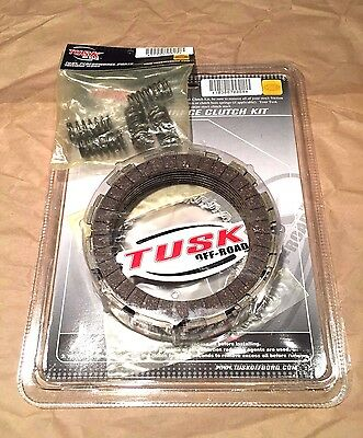 Tusk Clutch Kit with Heavy Duty Springs Honda CRF450R 2002-2008 Fits