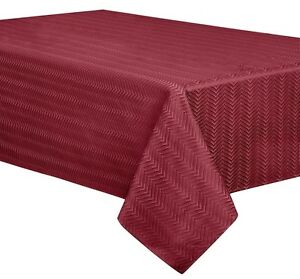 Infinity Fabric Tablecloth Heavy Weight Wrinkle Resistant