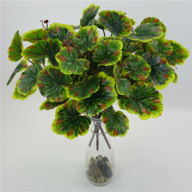 Outdoor Indoor Artificial Plants Fake Flower Leaf Foliage Home Decoration Kv For Sale Online