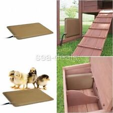 Chickens Nesting Box Thermo Heated Cozy Pad Peeps Chicken Coop Heater Thermostat