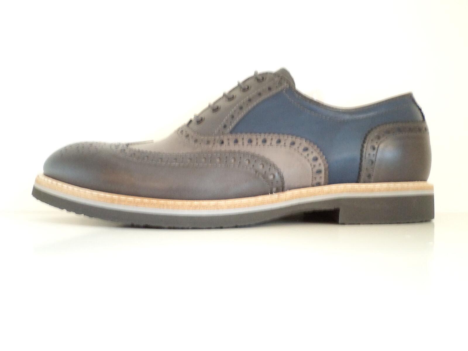 SCONTO 30 % shoes black GIARDINI SUMMER men  GREY ANTRAC blue ART. P800191