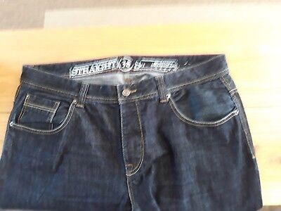 100% Vero Burton Menswear Jeans... W38s... Chiusura Zip.-...zip Fly... It-it