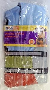 Canine-Safety-Preserver-new-size-Large-ASPCA-Reflective-Stripes-Color-may-Vary