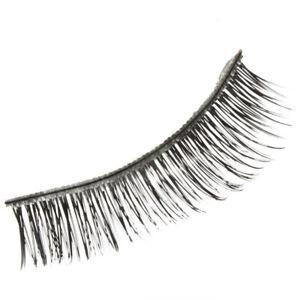 Newly Cross Section False Natural Thick Fake Eyelashes Makeup BEST U1J5
