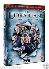 ❏ The Librarians Series 2 DVD Complete Second SyFy Season 2nd ❏ Genuine R2