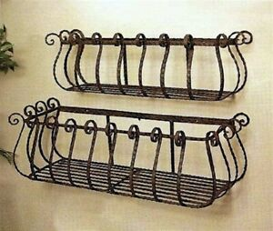 36-034-and-30-034-Wrought-Iron-Large-Castilian-Window-Boxes-Set-of-2