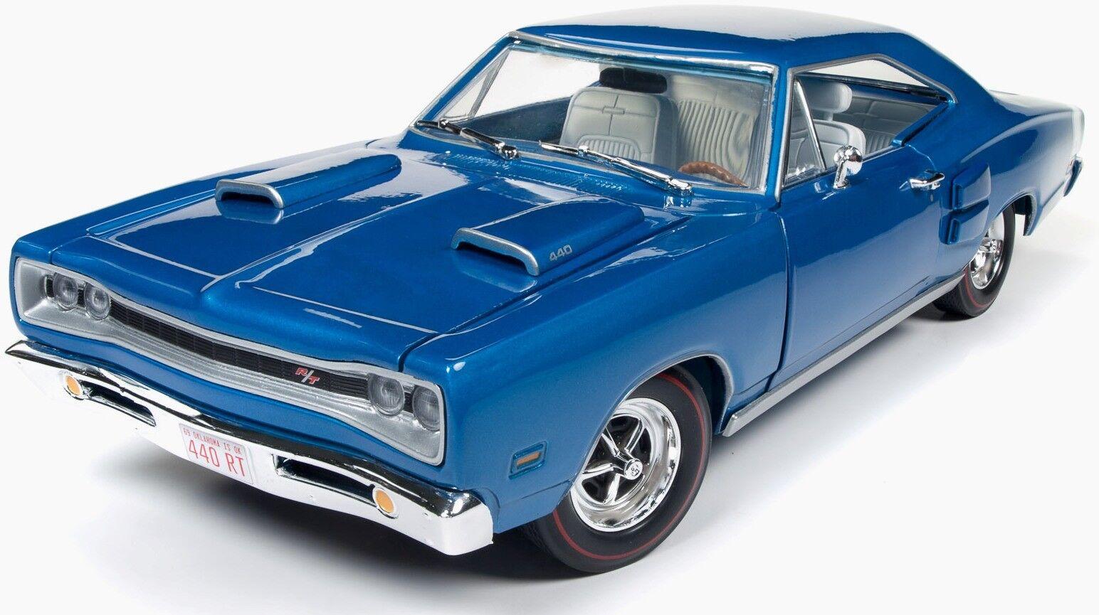1969 dodge cGoldnet r   t Blau 1,18 auto - welt 1116