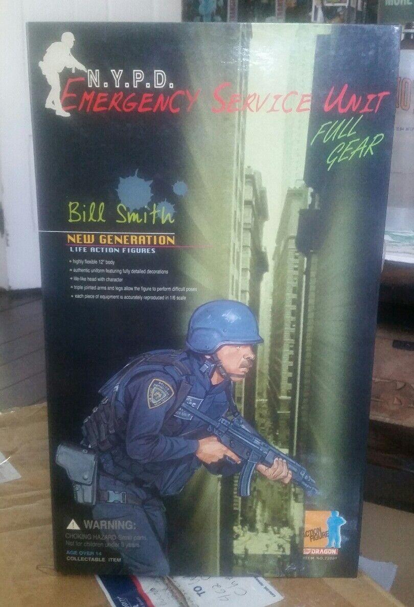 Dragon 1 6 NYPD Emergency Service Unit Bill Smith MIB