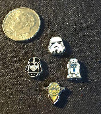 Chewbacca Star Wars Charm Hans Solo R2d2 Fits Origami owl locket