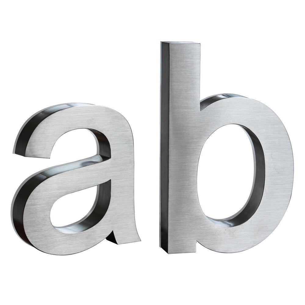 LED Beleuchtete Hausnummer Edelstahl Edelstahl Edelstahl 18cm Weiß Arial 12 Volt ohne Trafo 3D V2Aox | Kunde zuerst  | Economy  | Günstige  38d438