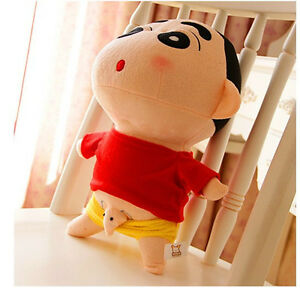 Details About Q Expression Crayon Shin Chan Plush Toy JJ Elephant Lover Birthday Gift 35cm 1pc