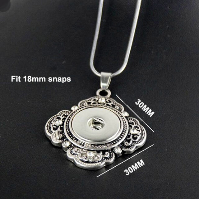 Fish Maw Style Crystal Pendant Drill Fit For Noosa Necklace Chunk Charm Button