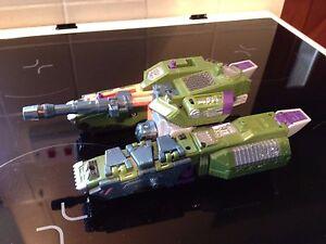 Transformers Armada MEGATRON  MISSING HORNS MISSILES & MINI-CON