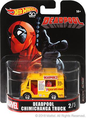 Hot Wheels Deadpool Chimichanga Truck Ships Free 24 hrs