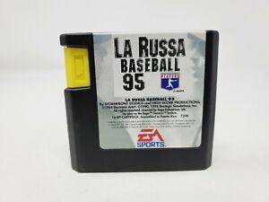 La Russa Baseball 95 (Sega Genesis) Tested Authentic