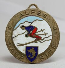 SPORTS/ SKI/ ALPES DAUPHINÉ Enamel Medal