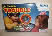2015 Hasbro Pop-o-matic Trouble Target Retro Series 1986 Edition Game Popomatic