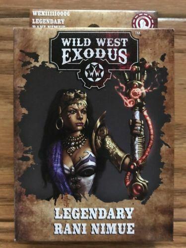 Legendary Rani Nimue ADD/'L ITEMS SHIP FREE Wild West Exodus