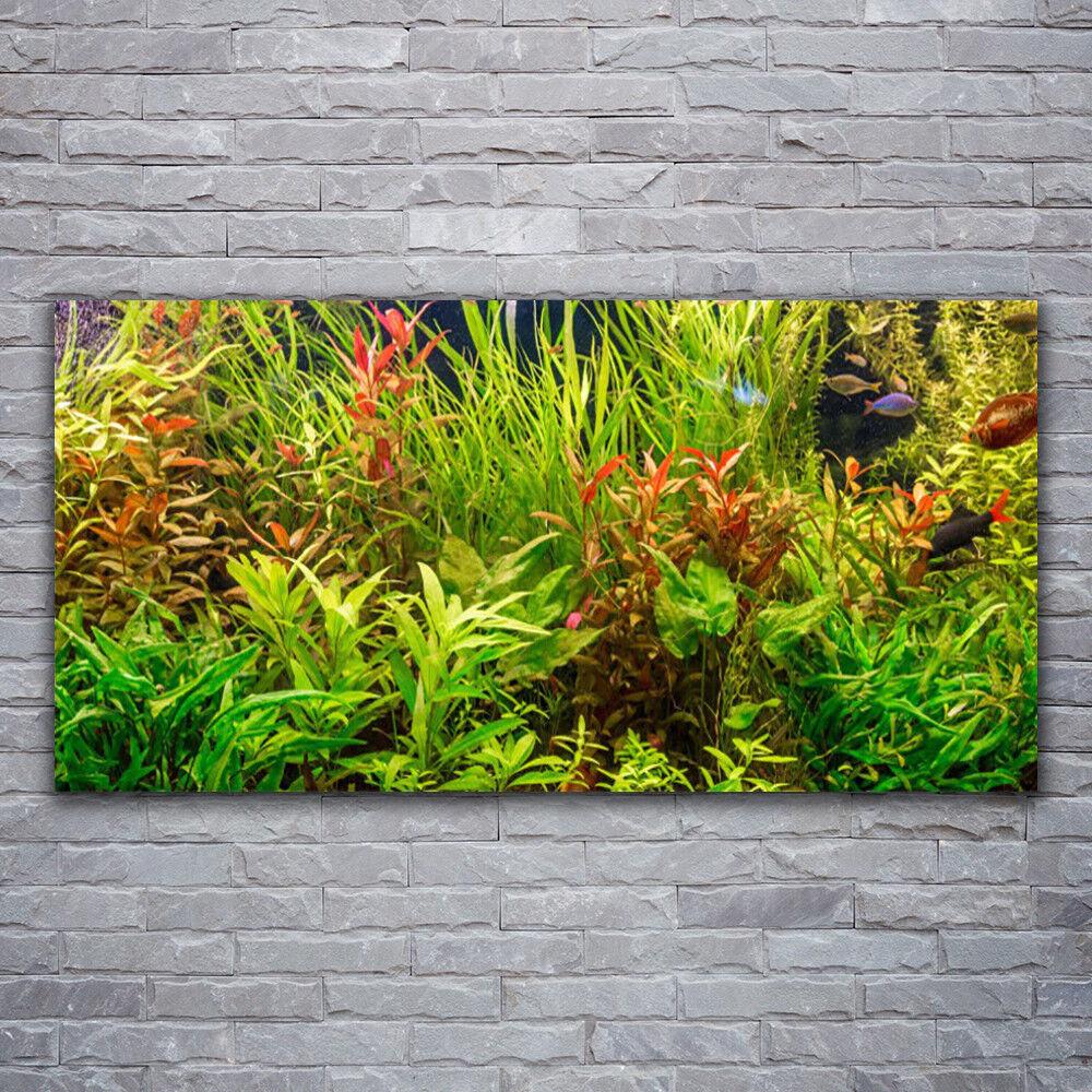 Impression sur verre Wall Art 120x60 Photo Image plantes Floral
