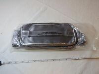 Avon Quilted Train Case Travel Case Make Up Toiletries Metallic F3352291 New;;