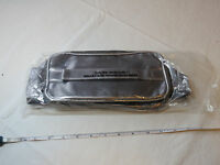 Avon Quilted Train Case Travel Case Make Up Toiletries Metallic F3352291 New;;