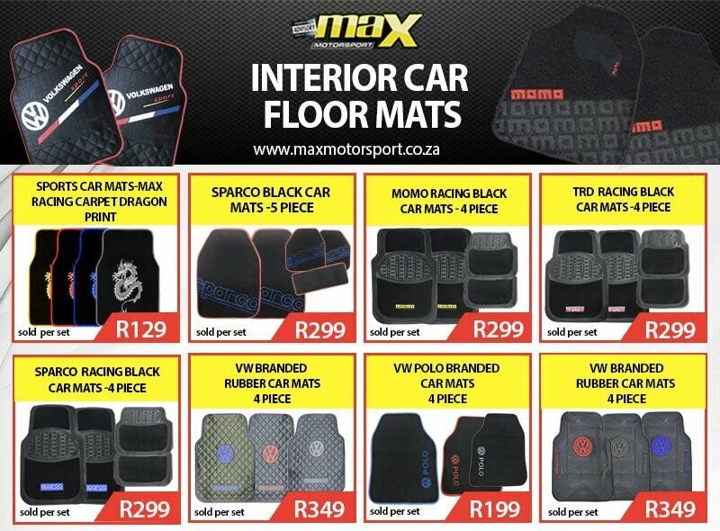 AFFORDABLE CAR INTERIOR FLOOR MATS NOW IN STOCK.