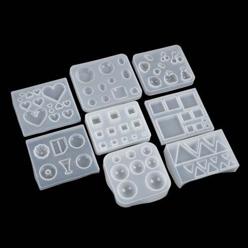 Pendant Mould Silikonformen aus Resin Crystal Epoxy Mold Grafische Formen