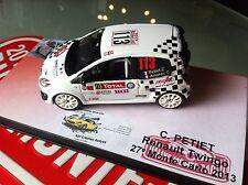 DECAL CALCA 1 43 RENAULT TWINGO RS N°113 Rally WRC monte carlo 2013 montecarlo