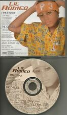 LIL ROMEO Little Star / Girlies INSTRUMENTAL & ACAPPELLA & RADIO PROMO CD Single