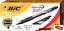 BIC Velocity Bold Retractable Ball Pen 1.6mm 12-Count,New Black Bold Point