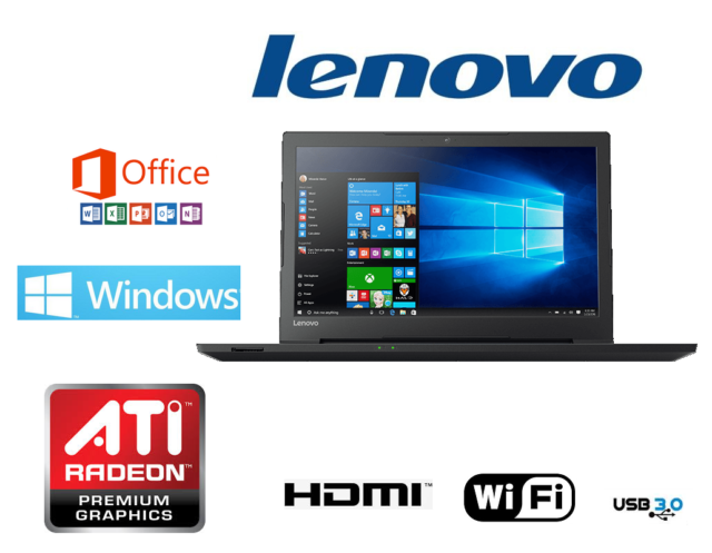 ORDENADOR PORTATIL GAMA 2018 LENOVO 8GB RAM 1 TB/ ATI RADEON/ WINDOWS 10 +OFFICE