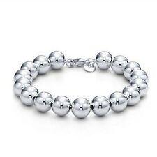 """Unisex  Women's 925 Sterling Silver Bangle Bracelet 8"""" G5"""