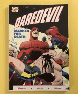 Daredevil-Marked-For-Death-1-TPB-1990-1st-Print-Marvel-Black-Widow-F-Miller