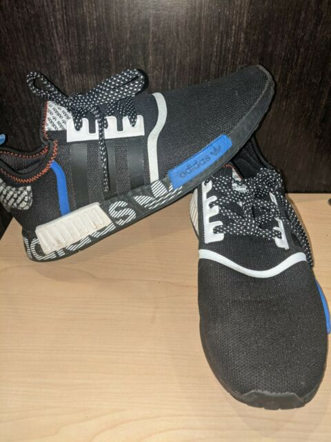 Size 11 - adidas NMD R1 Transmission Pack - Black