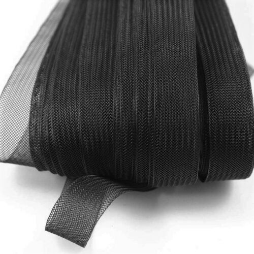 HORSEHAIR BRAID TRIM 4 yards  8 COLORS CRINOLINE 1 1//4/""