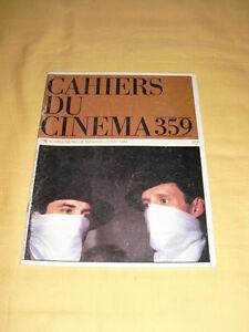CAHIERS-DU-CINEMA-N-359-Mai-1984-Robert-De-Niro-James-Wood-Sergio-Leone