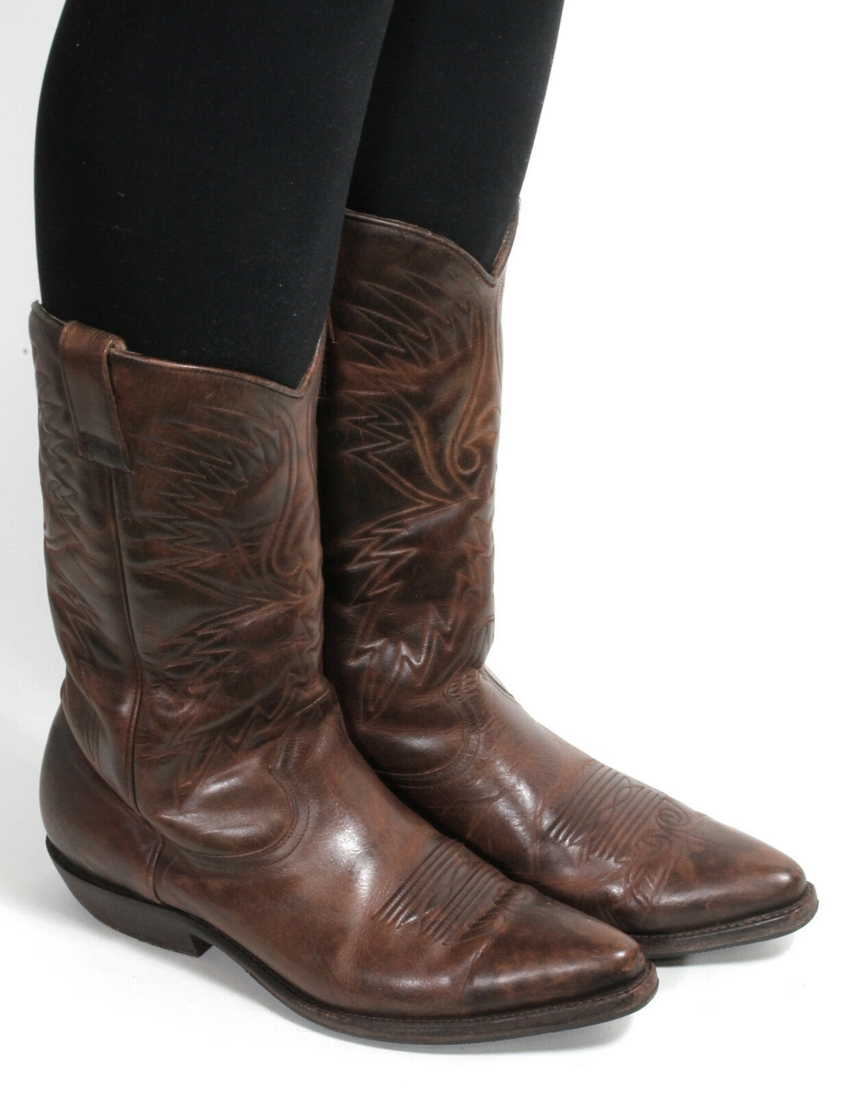 Stivali Western Cowboy Stivali Catalan Style line dance Texas stivali Don Quijote 38