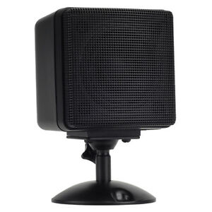 BLACK SPEAKER W//REMOVABLE PEDESTAL FOR MAGNADYNE RADIO 26961 SPEAKER LS4B