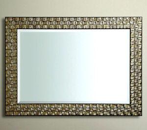 John Lewis Specchio da parete legno Mosaico Cornice argento anticato ...