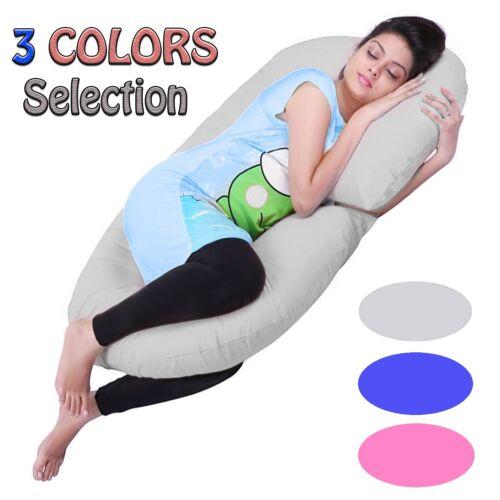 C Shaped Maternity Pregnancy Pillow Nursing Feeding Boyfriend Body Pillows