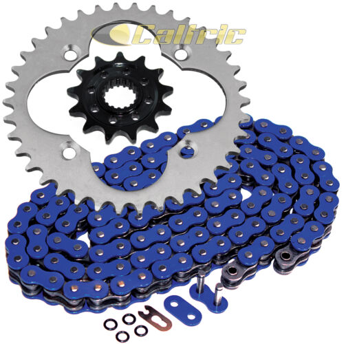 Blue O-Ring Drive Chain /& Sprockets Kit Fits HONDA TRX450R TRX450ER 2006-2014