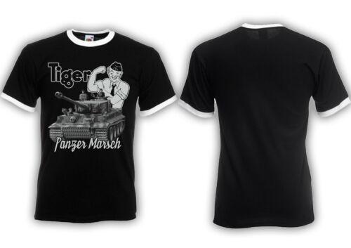 pez sierra militar BW alemania ejército Tigerfibel Ringer t-shirt Tactical