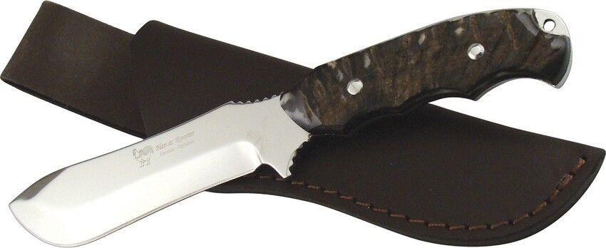 Coltello Hen & Rooster HR5003RH Rams Horn Bowie knife couteau messer navaja
