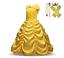 Children-Girls-Beauty-and-the-Beast-kids-Princess-Belle-Dress-UP-Set-B1 thumbnail 1