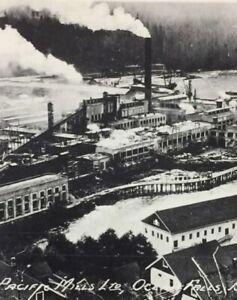 Postcard-Pacific-Mills-Ocean-Falls-B-C-Canada-Vintage-P52