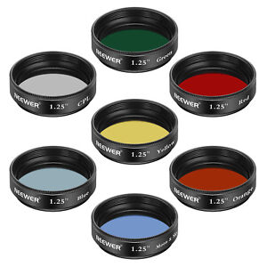 Neewer-1-25-034-Telescope-Moon-and-Skyglow-Filter-CPL-Filter-5-Color-Filters-Set