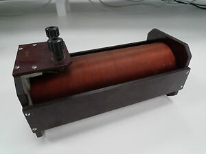 Coil-Inductor-Vintage-Electronic-Lab-Apparatus-Copper-Wire-Physics